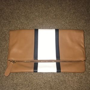 Brown large Clutch